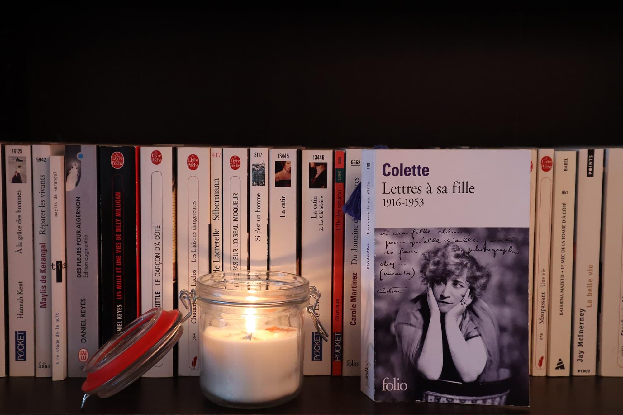 Lettres à sa fille, Colette – 2003 – Ed. Folio, 624 p.