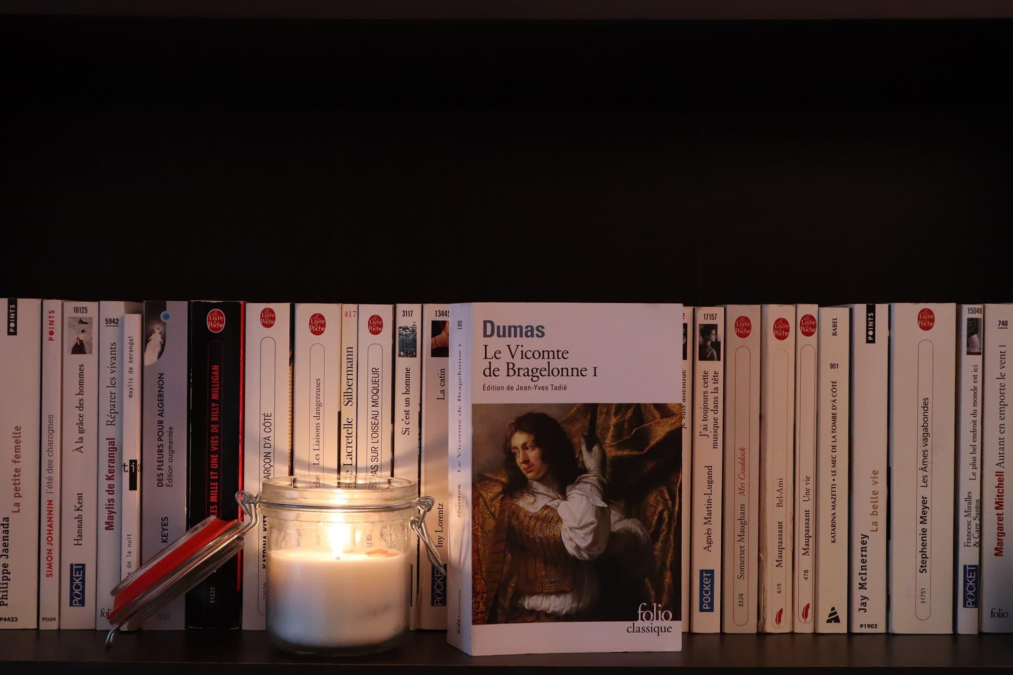Le vicomte de Bragelonne I, Alexandre Dumas – 1997 – Ed. Folio, 912 p.