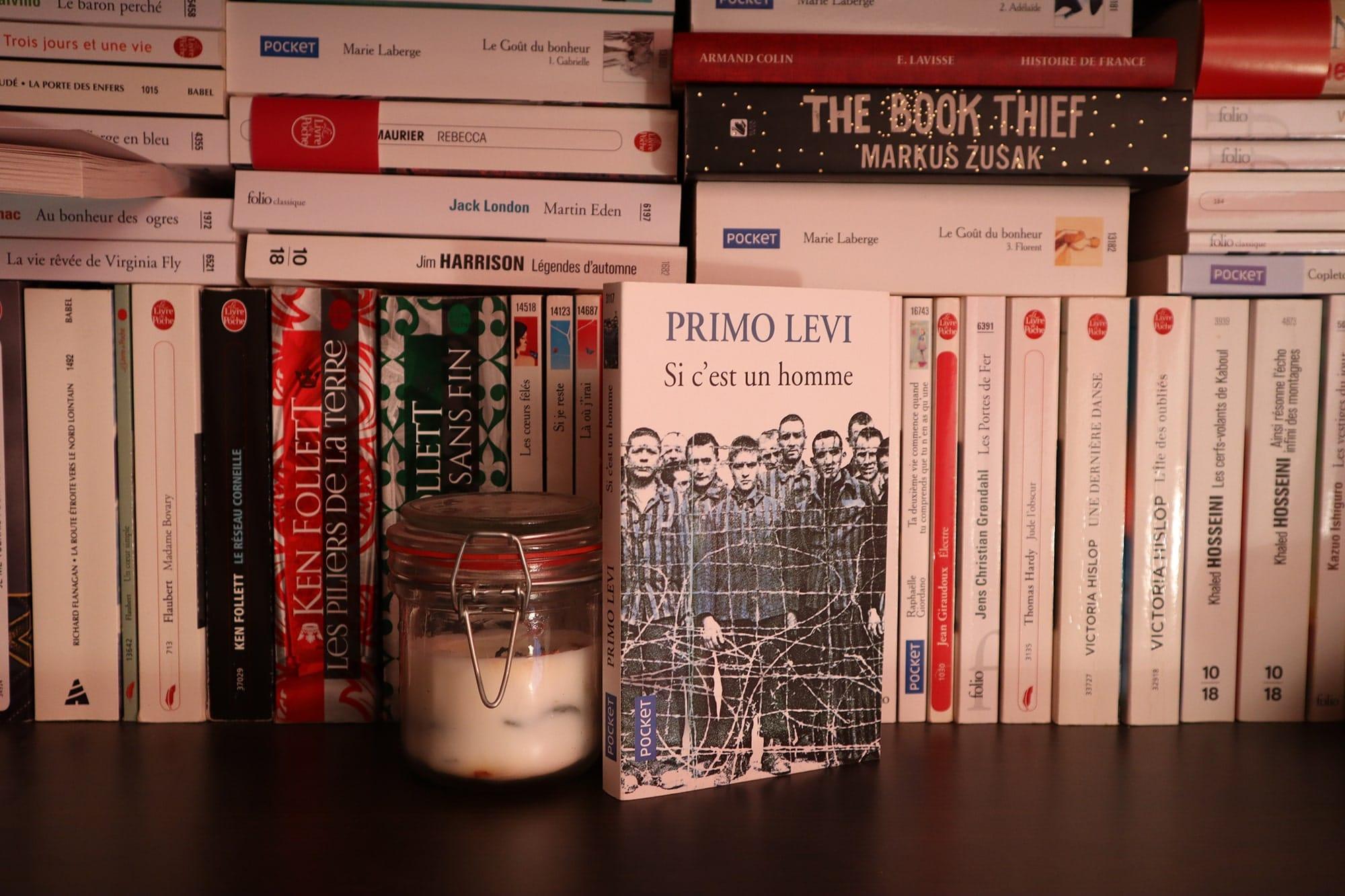 Si c'est un homme, Primo Levi – 1988 – Ed. Pocket, 214 p.