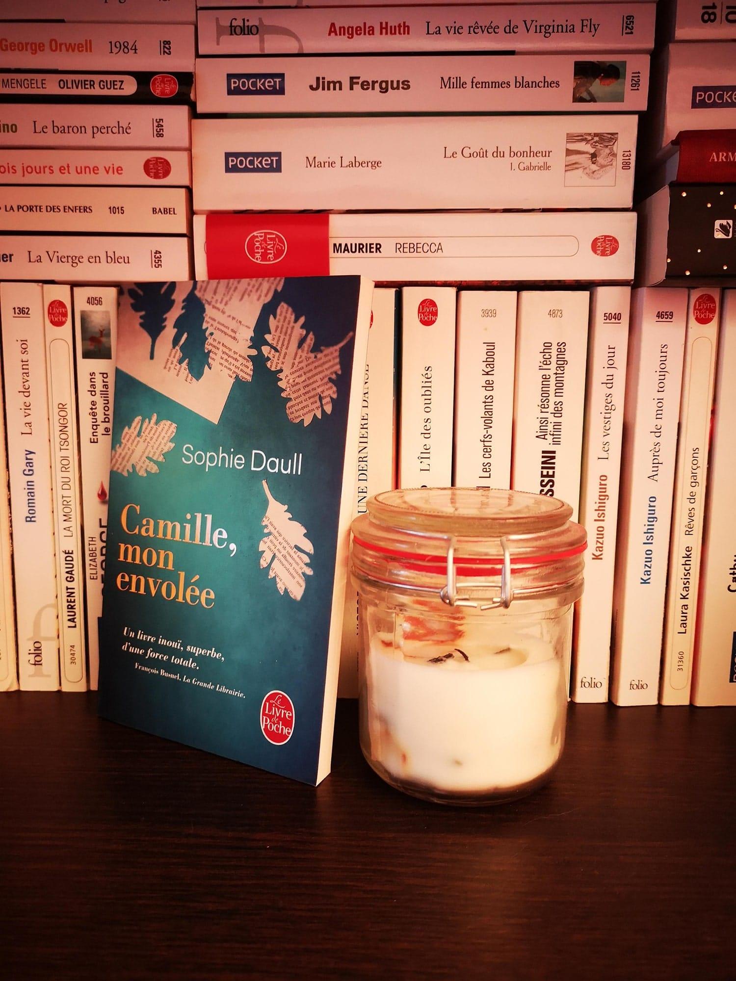 Camille, mon envolée, Sophie Daull – 2015 – Ed. Le Livre de Poche, 189 p.