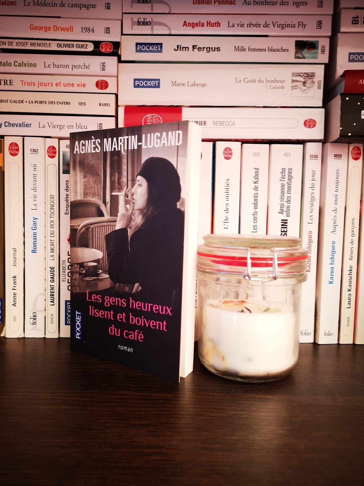 Les gens heureux lisent et boivent du café, Agnès Martin-Lugand – 2013 – Ed. Pocket, 187 p.