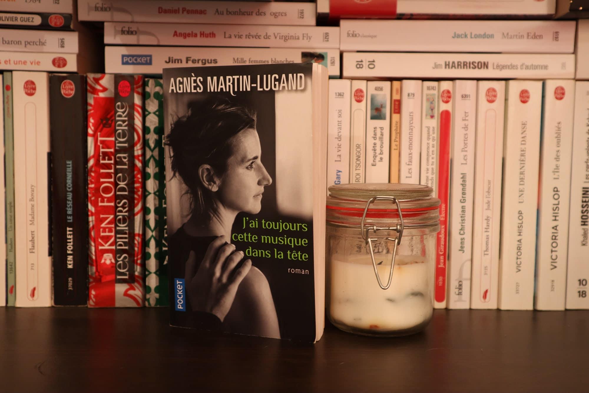 J'ai toujours cette musique dans la tête, Agnès Martin-Lugand – 2017 – Ed. Pocket, 384 p.